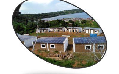 Eco-village and production (Bukasa Island, Uganda)