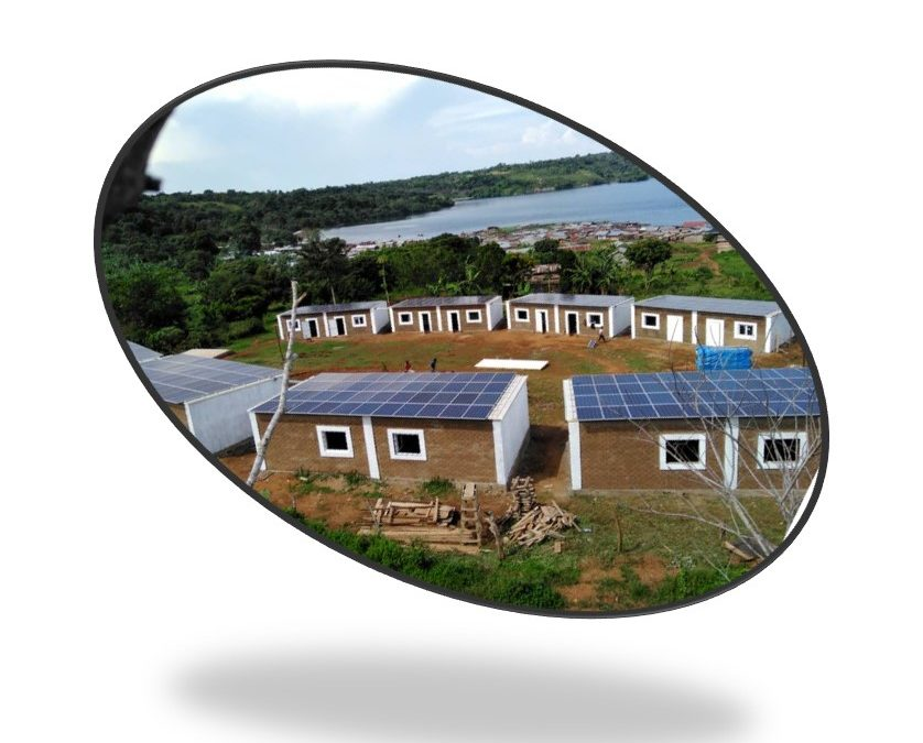 Eco-village and production (Bukasa Island, Uganda)